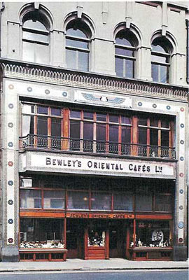 Bewleys Café, Grafton St, Dublin