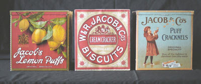 Some packaging from Jacobs Biscuits