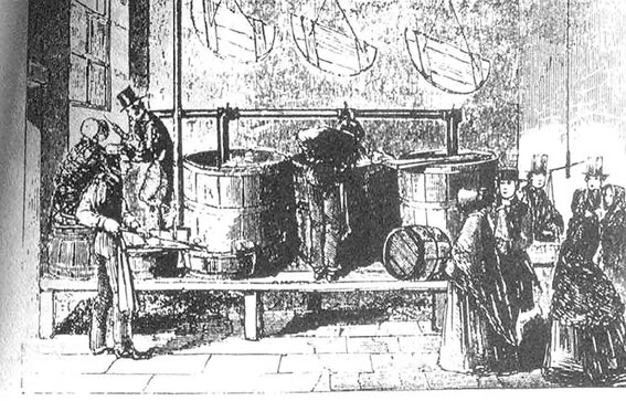 A Quaker Soup Kitchen during the Famine