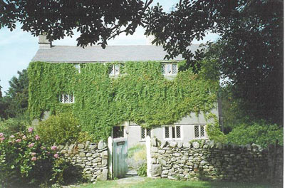 Swarthmoor Hall. An early centre for Quakers, in Cumbria, England