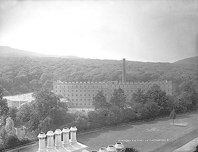 Malcomsons Cotton Mill, Portlaw (The Lawrence Collection, courtesy of The National Library of Ireland)