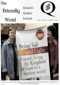 The Friendly Word Magazine Cover March-April 2011