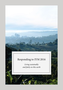 Responding to IYM 2016 booklet cover
