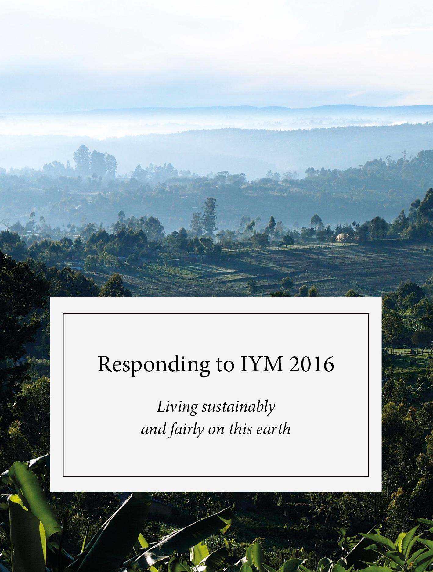 Responding to IYM 2016