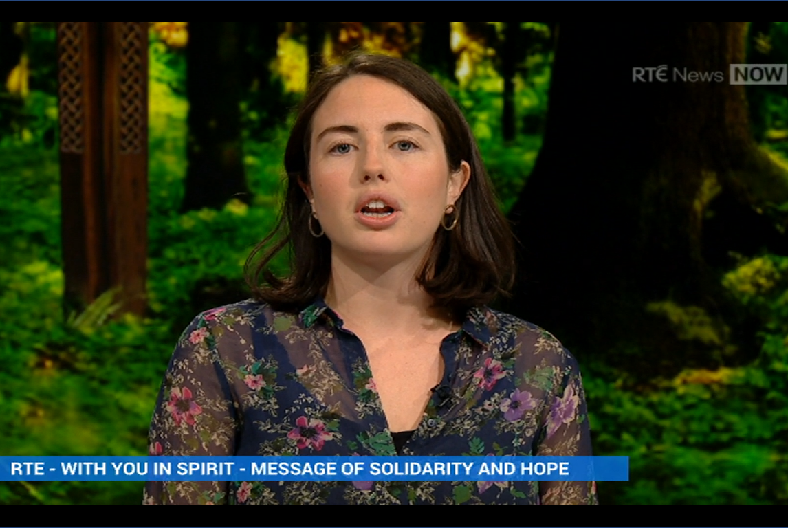 Ciara Harrison RTE News Now April 2020
